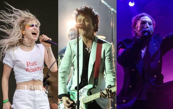 Paramore, Hayley Williams, Green Day, Billie Joe Armstrong, Slipknot, Corey Taylor