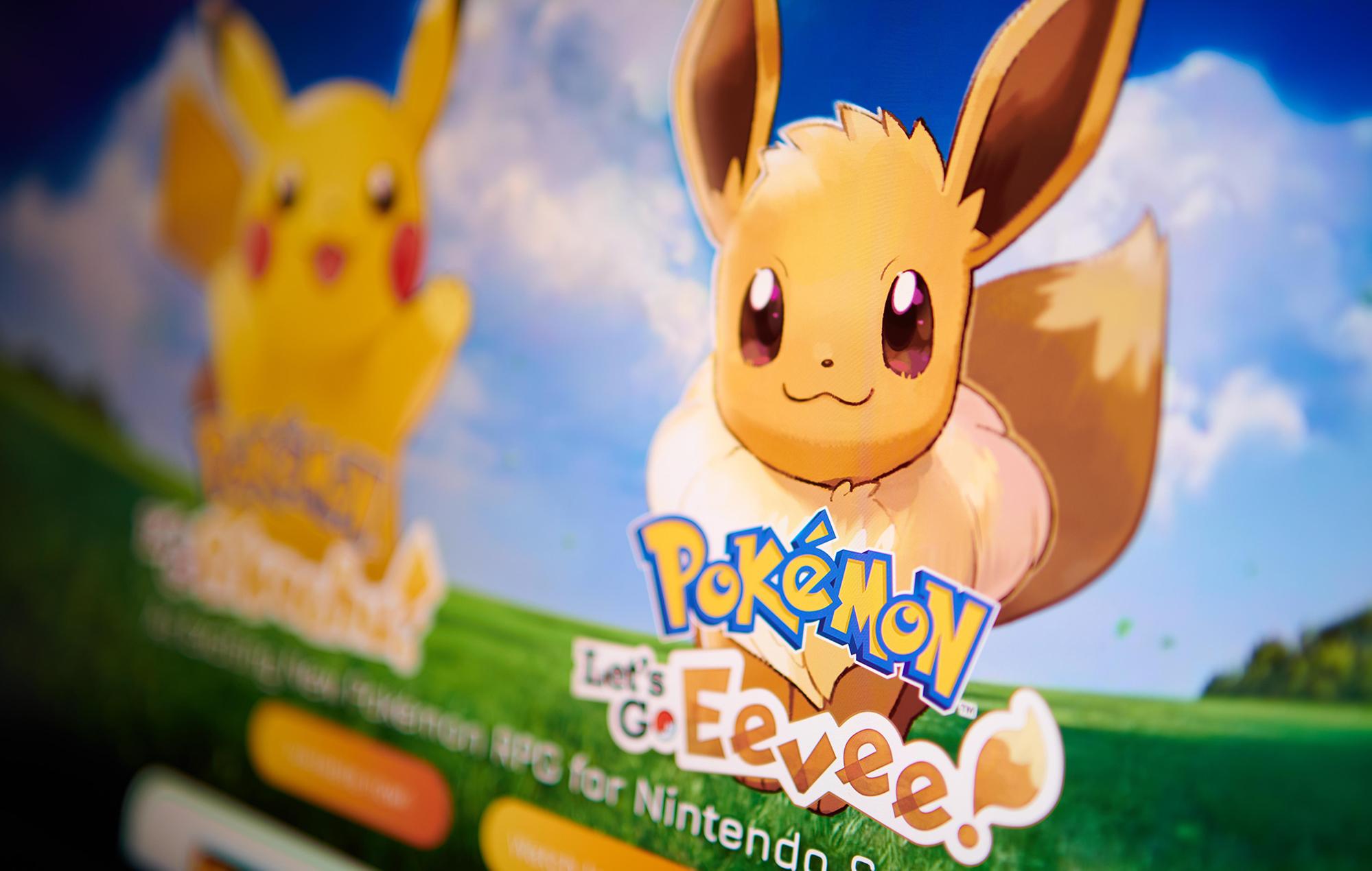 Pokémon: Let's Go, Eevee! leak