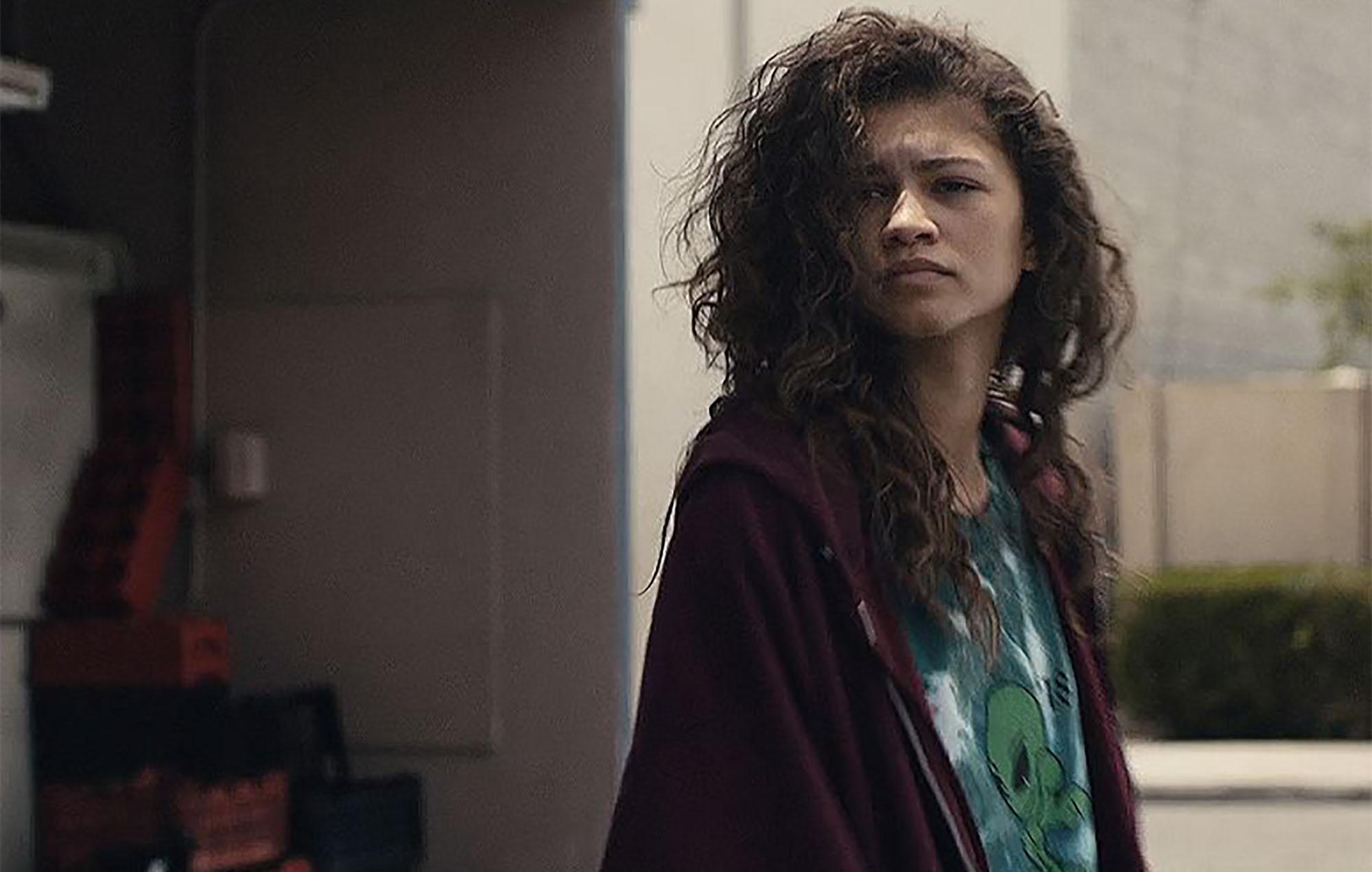 Coronavirus: Zendaya's 'Euphoria' hoodie for sale in an A24 charity auction