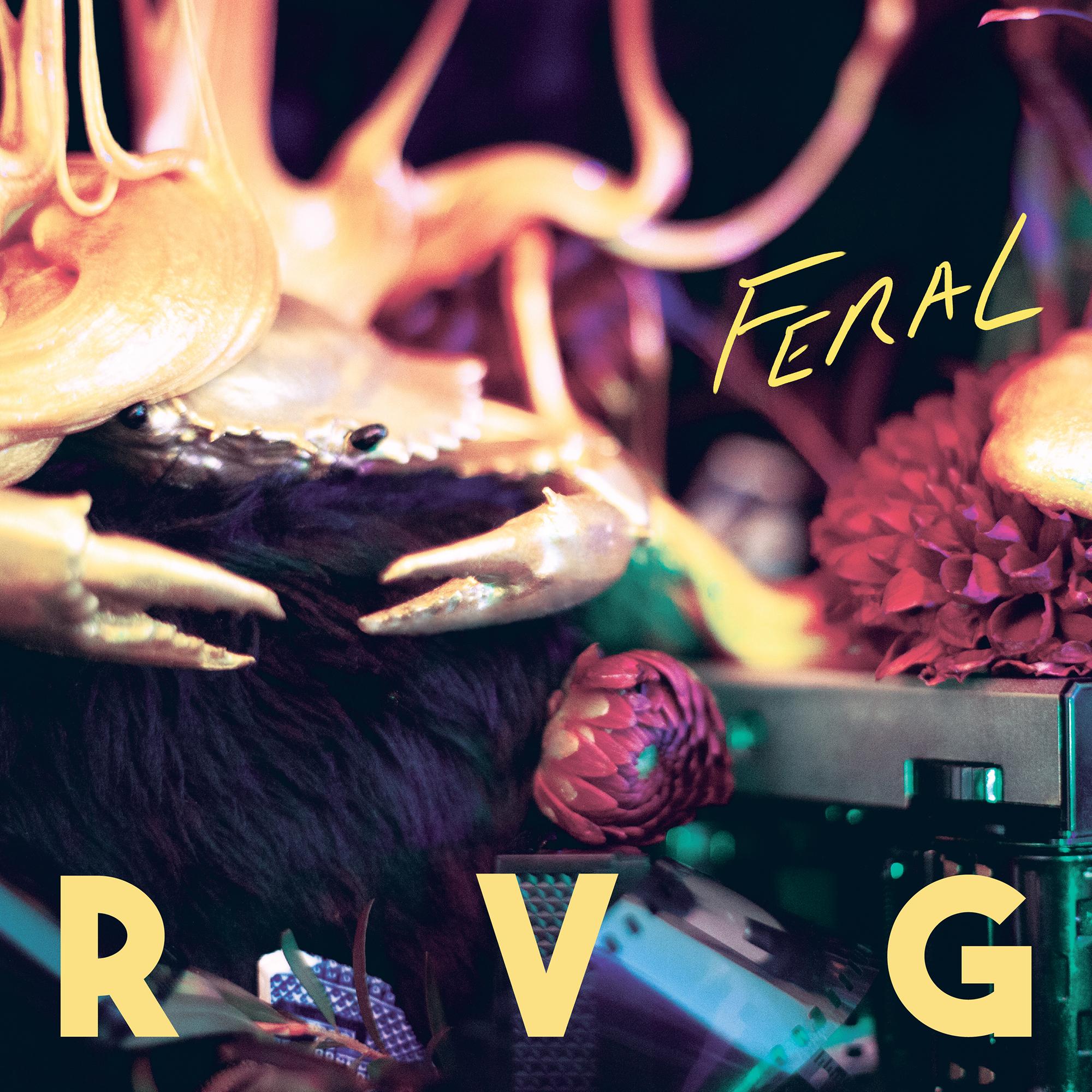 RVG album cover for second studio album Feral