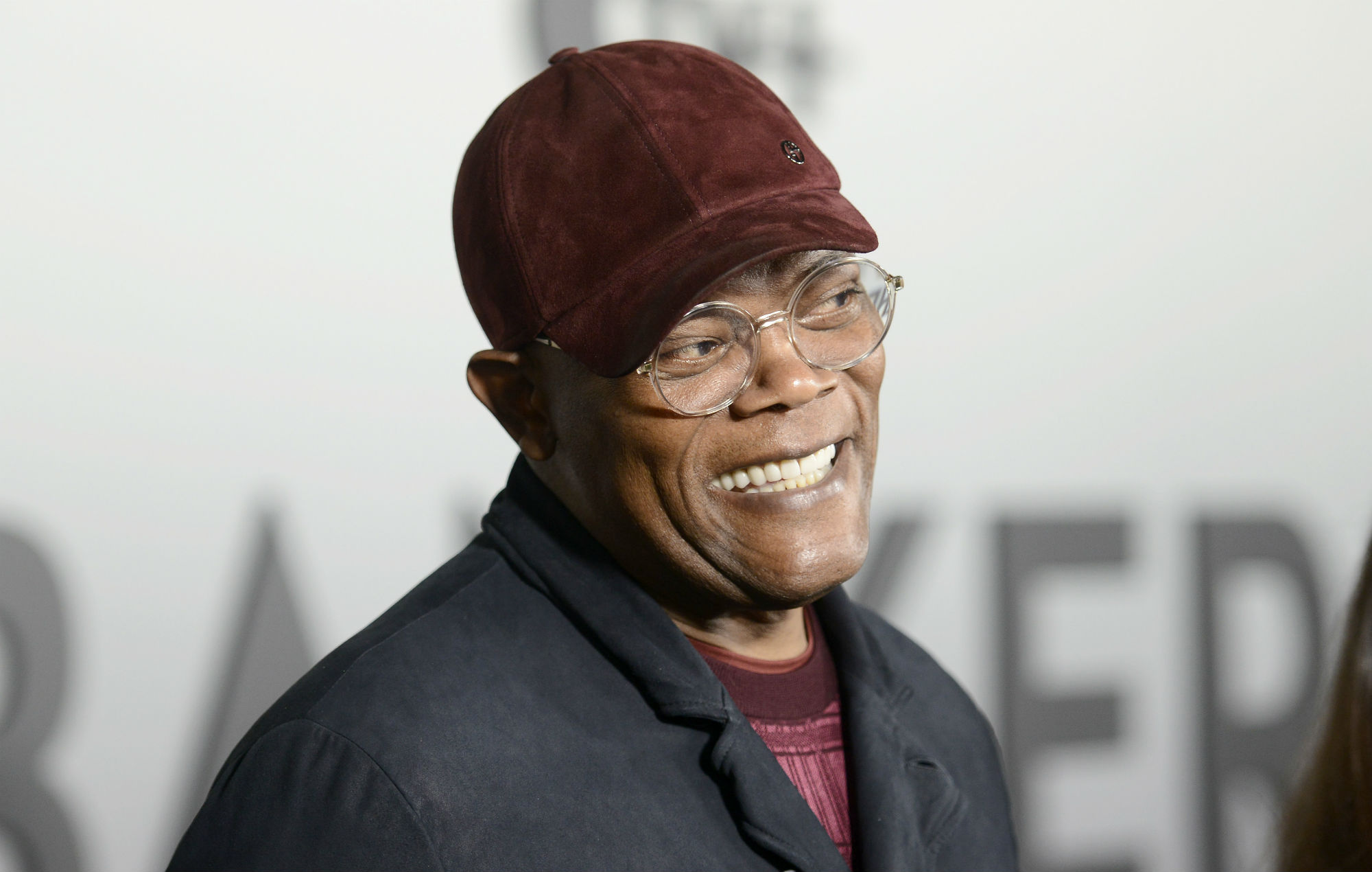 Samuel L. Jackson at the world premiere of 'The Banker'