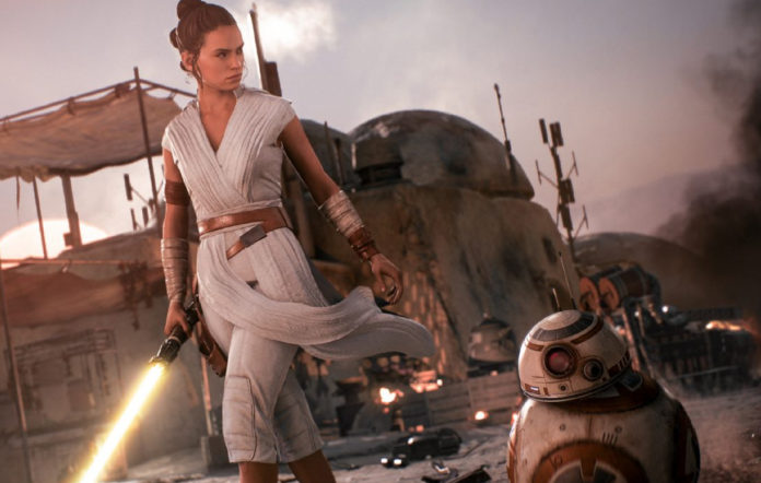 Rey, Star Wars Battlefront II