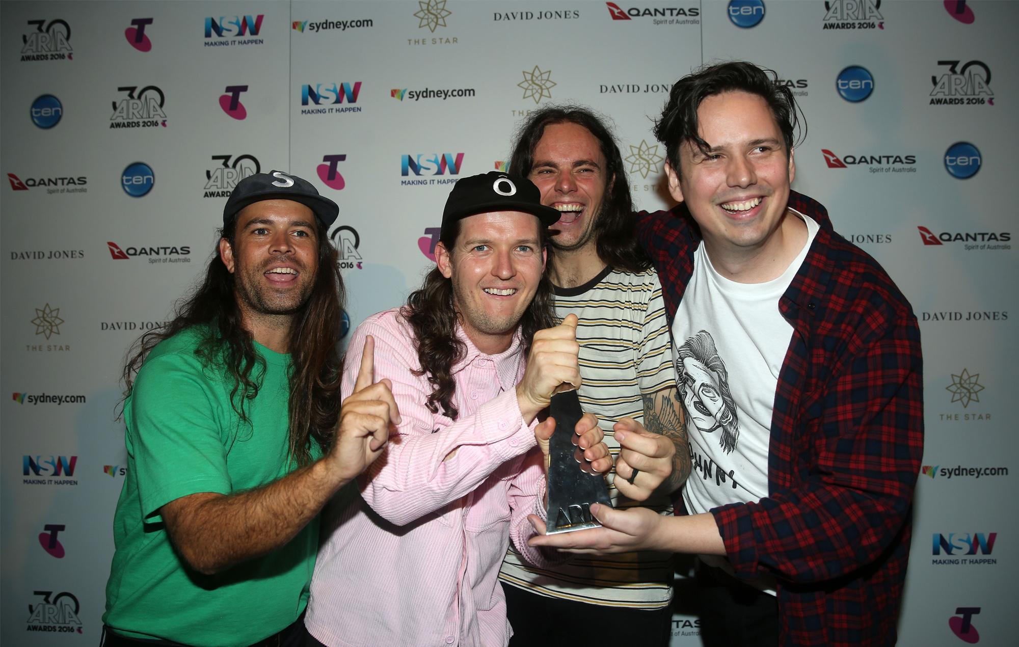 Violent Soho 2016 ARIA Awards win WACO album