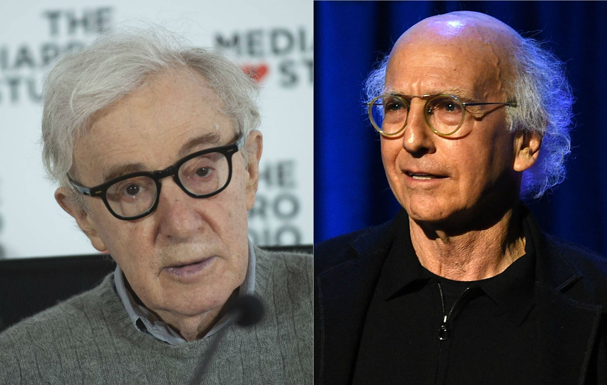 Larry David defends Woody Allen after reading his book