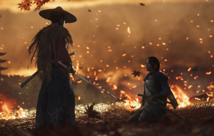 Ghost Of Tsushima Sucker Punch Sony