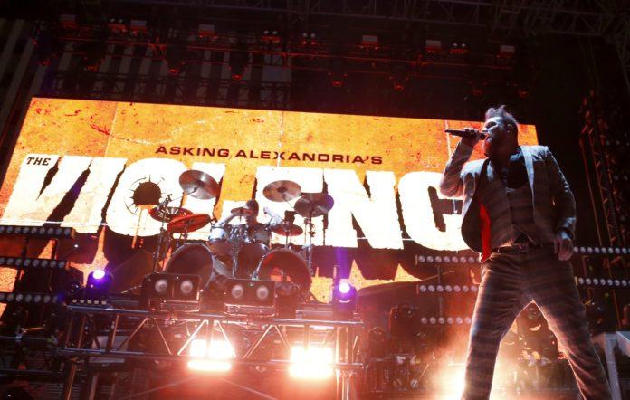 Asking Alexandria singer Danny Worsnop