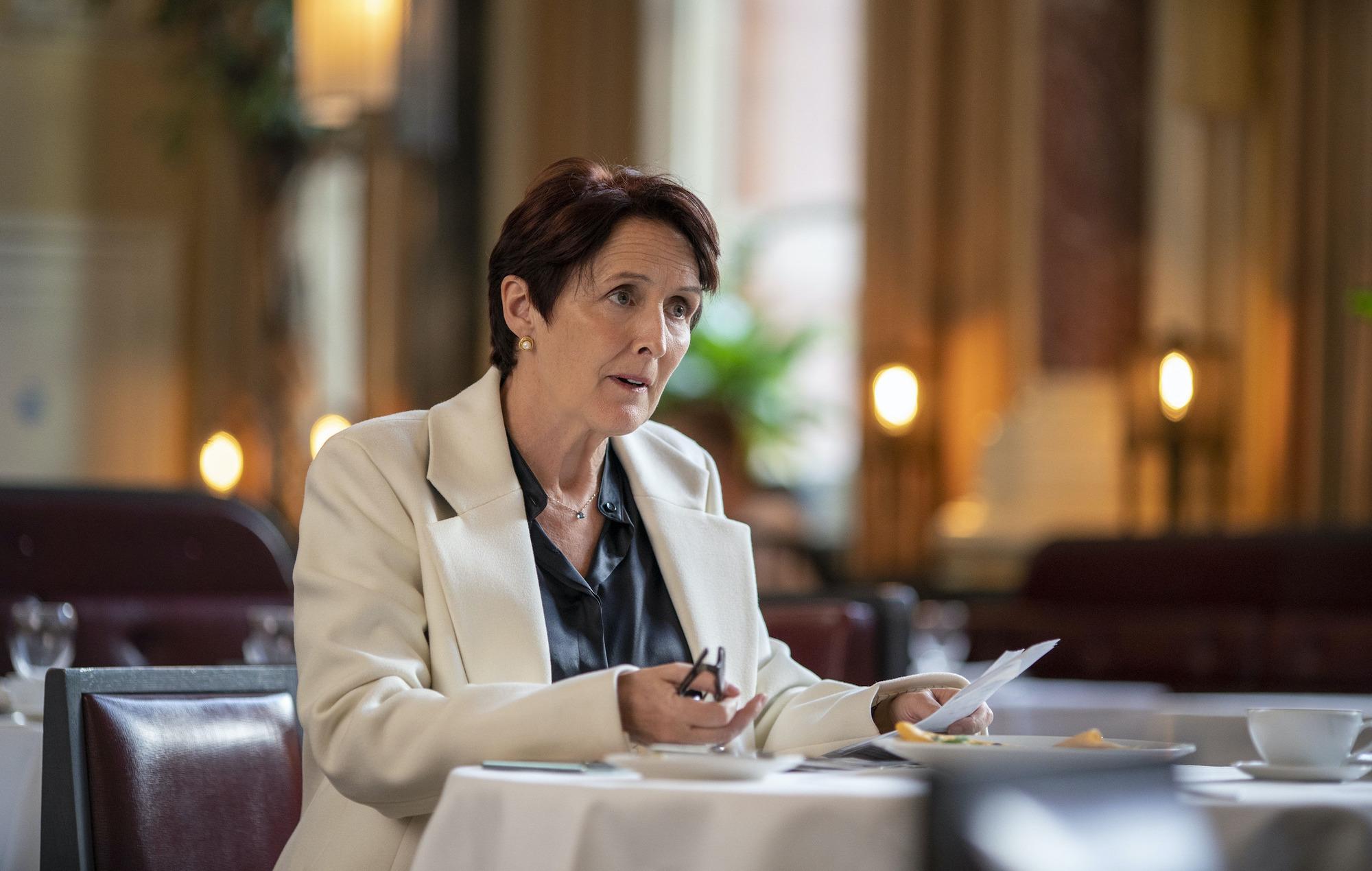Fiona Shaw, Killing Eve season three