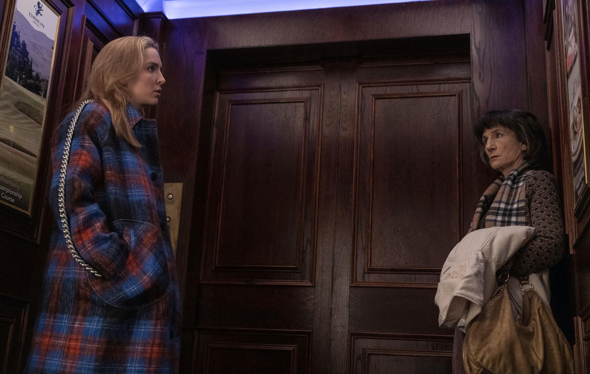 Jodie Comer, Harriet Walter, Killing Eve season three