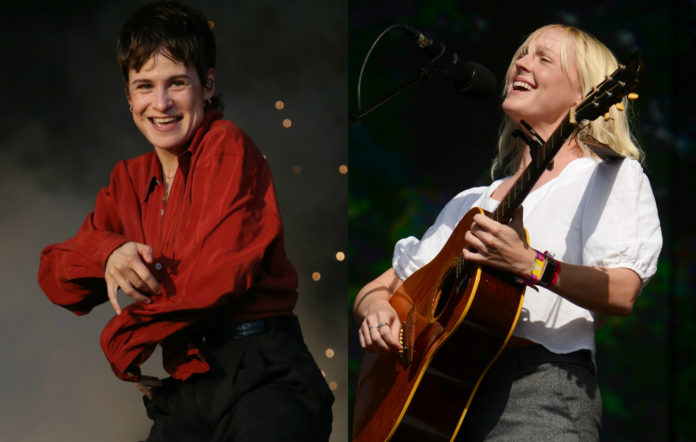Christine & The Queens and Laura Marling Jools Holland