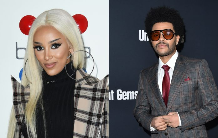 Doja Cat and The Weeknd tease remix