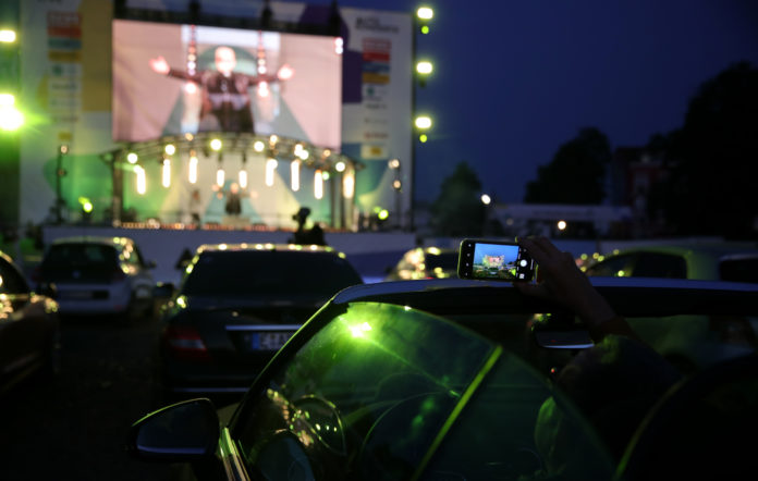 Australia to test drive-in gatherings