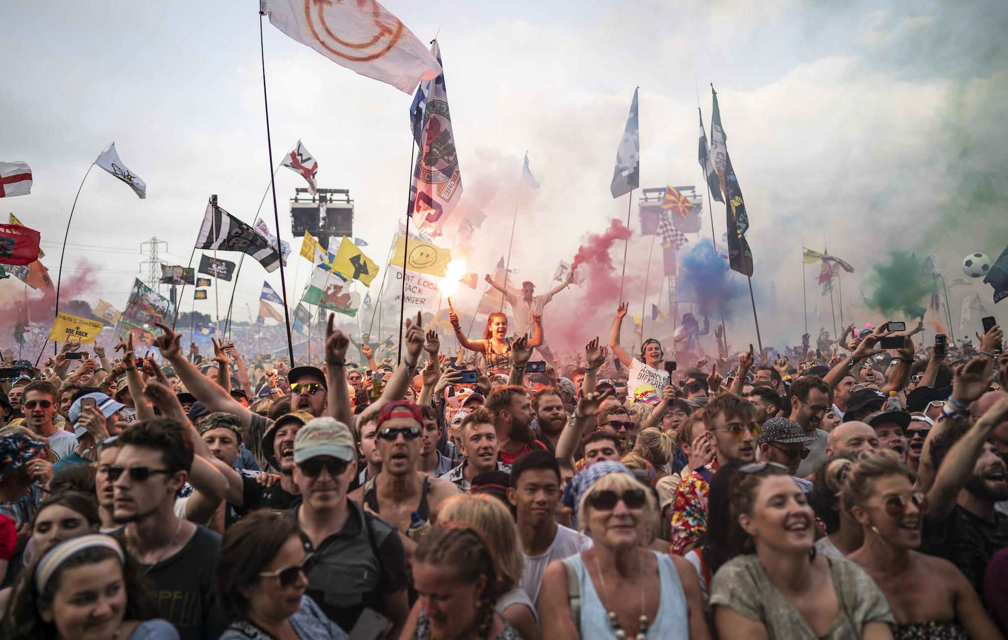 Glastonbury 2019 crowd