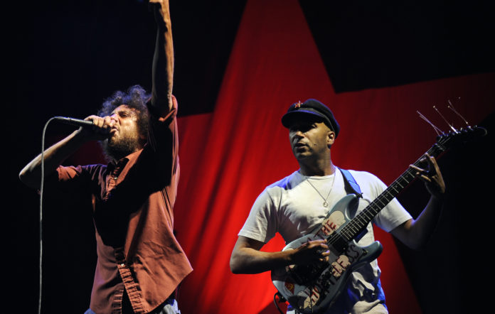 Zack de la Rocha, Tom Morello, Rage Against The Machine