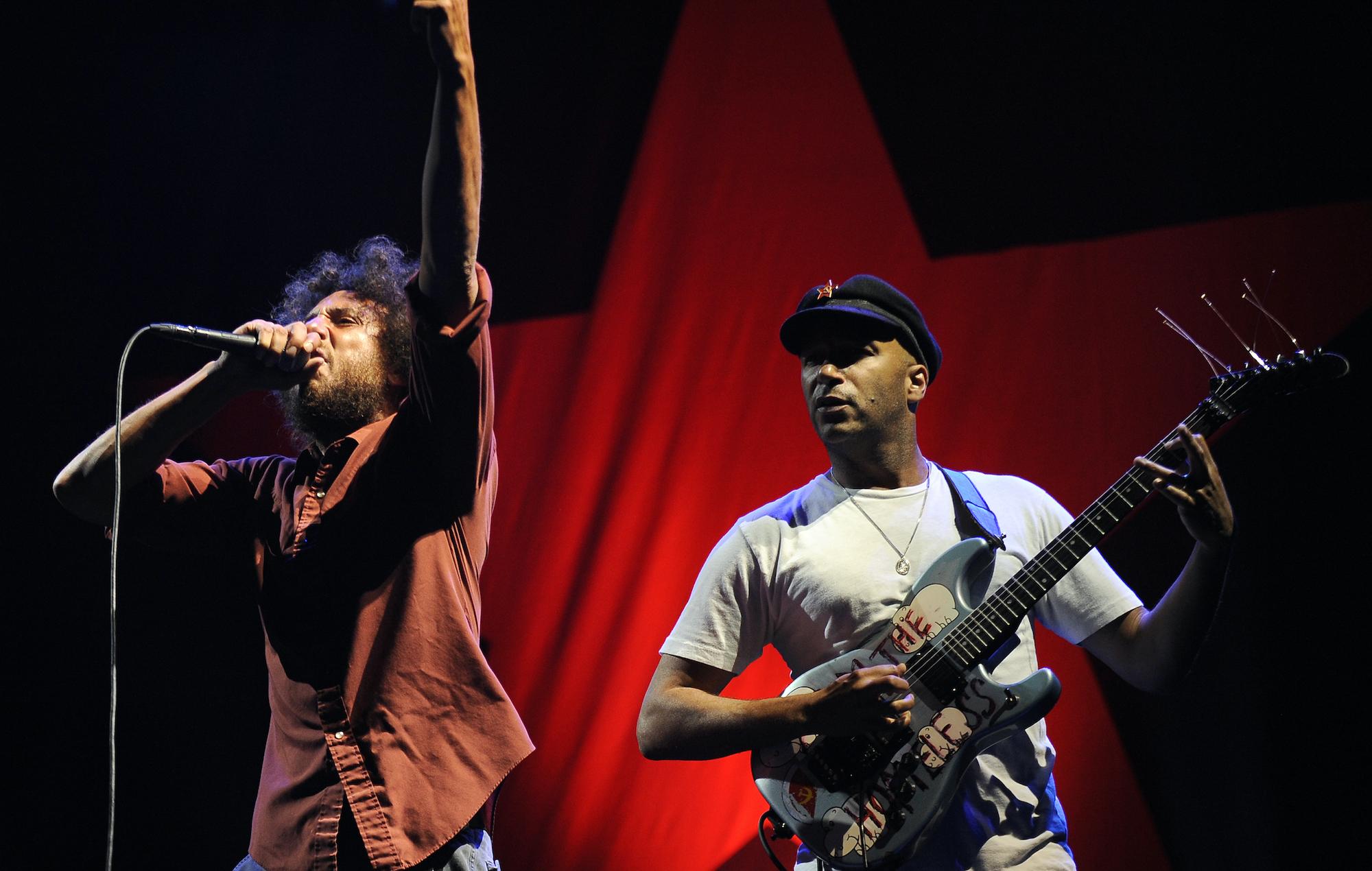 """Tom Morello hails Zack de la Rocha as """"the greatest frontman of all time"""""""