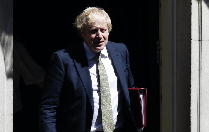 Boris Johnson, lockdown