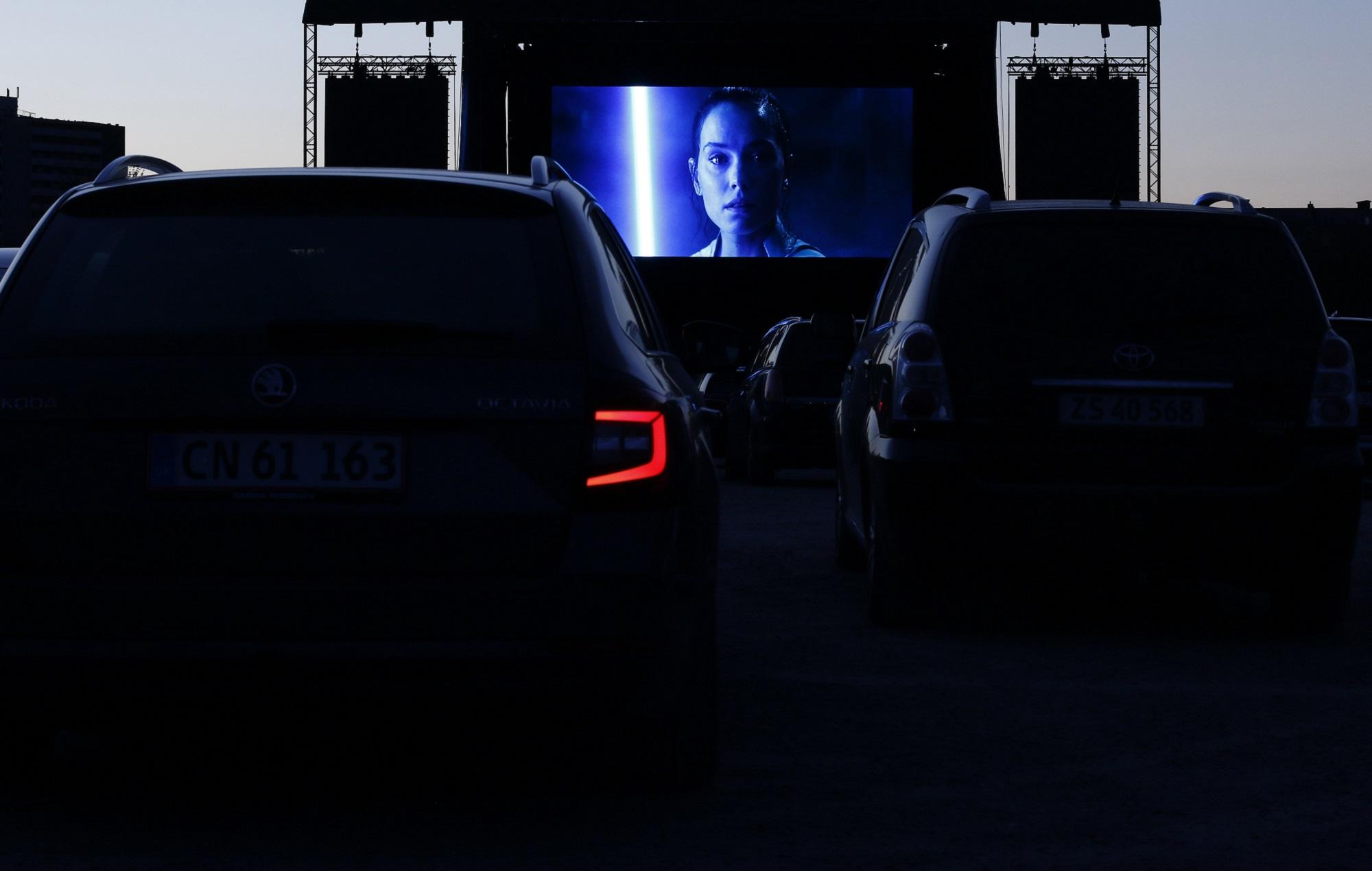 Aarhus drive in cinema