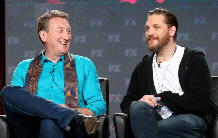 Steven Knight and Tom Hardy