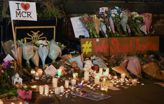 Manchester Arena attack, vigil