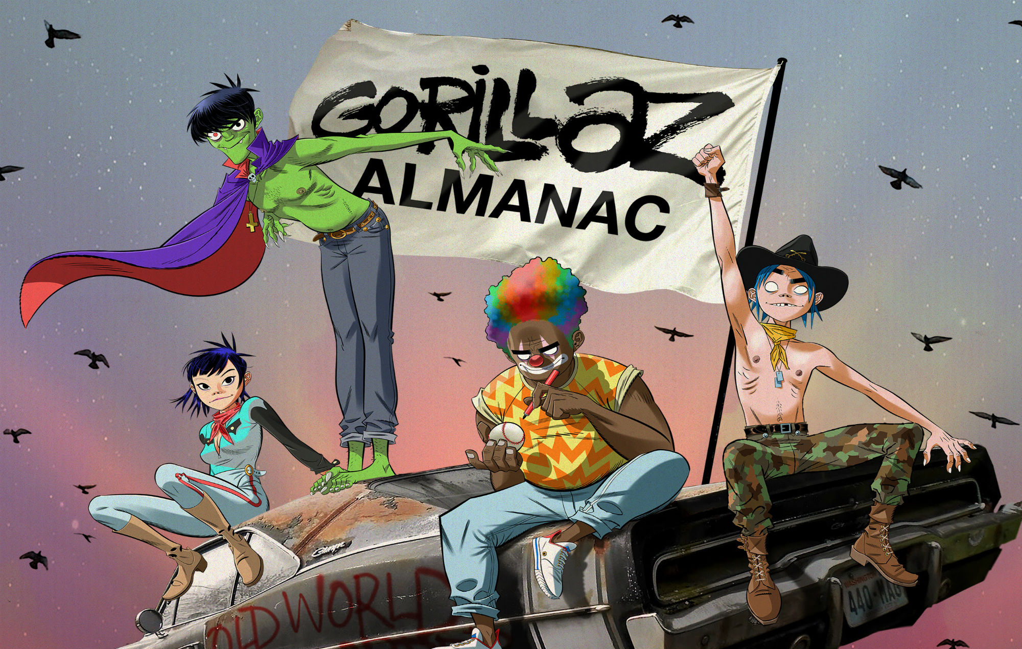 Kids with pens: Gorillaz are set to release their first annual - EpicNews