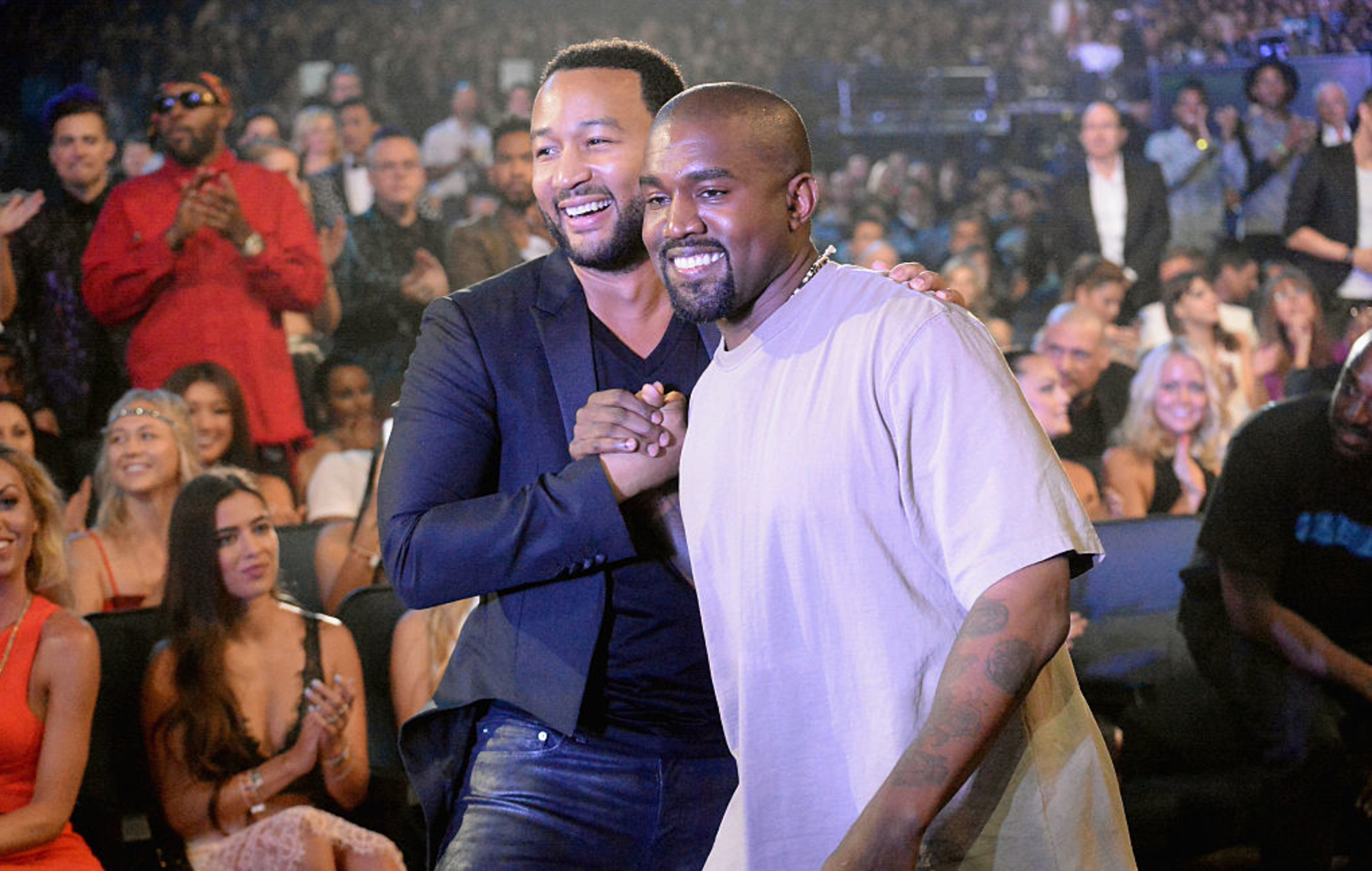 John Legend says he hasn't reconciled with Kanye West since Donald Trump fallout in 2018 thumbnail