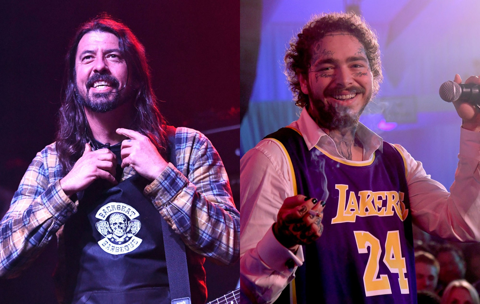 Dave Grohl Says Post Malones Nirvana Livestream Sounded Great Nme