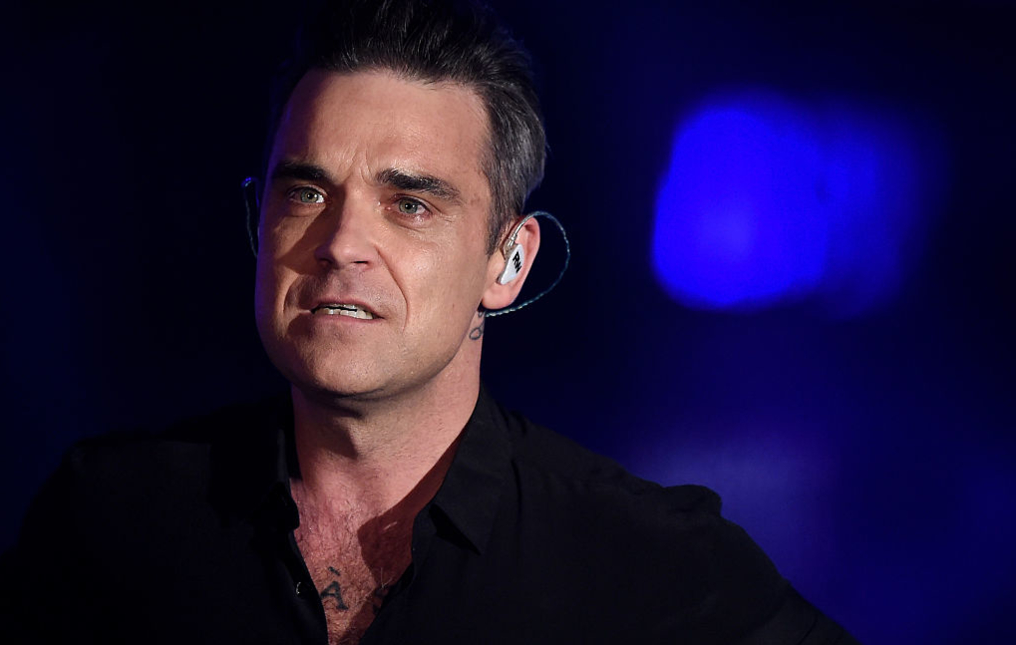 Robbie Williams threatened with being beheaded during trip to Haiti