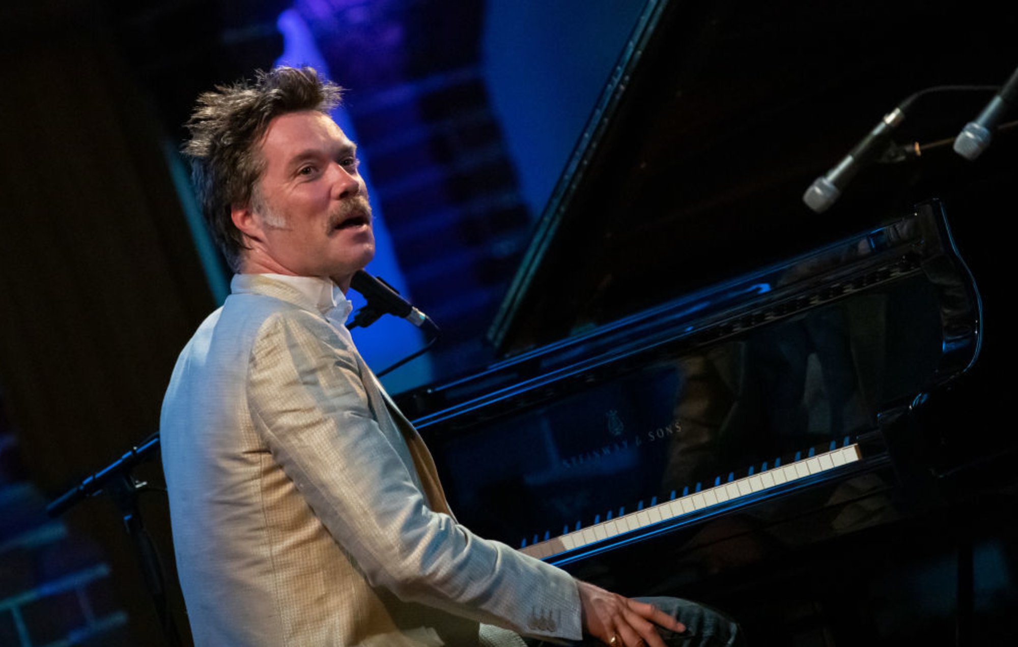 Watch Rufus Wainwright cover Stephen Foster's 'Hard Times' with family and friends