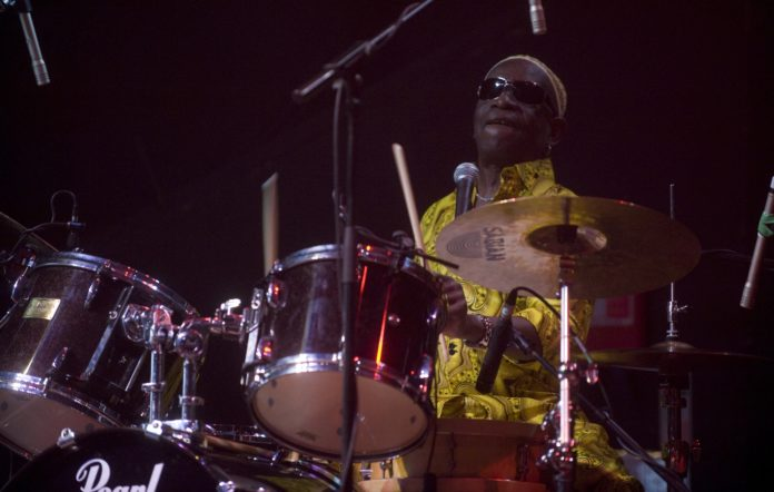 Tony Allen performing live at The Picture House In Edinburgh