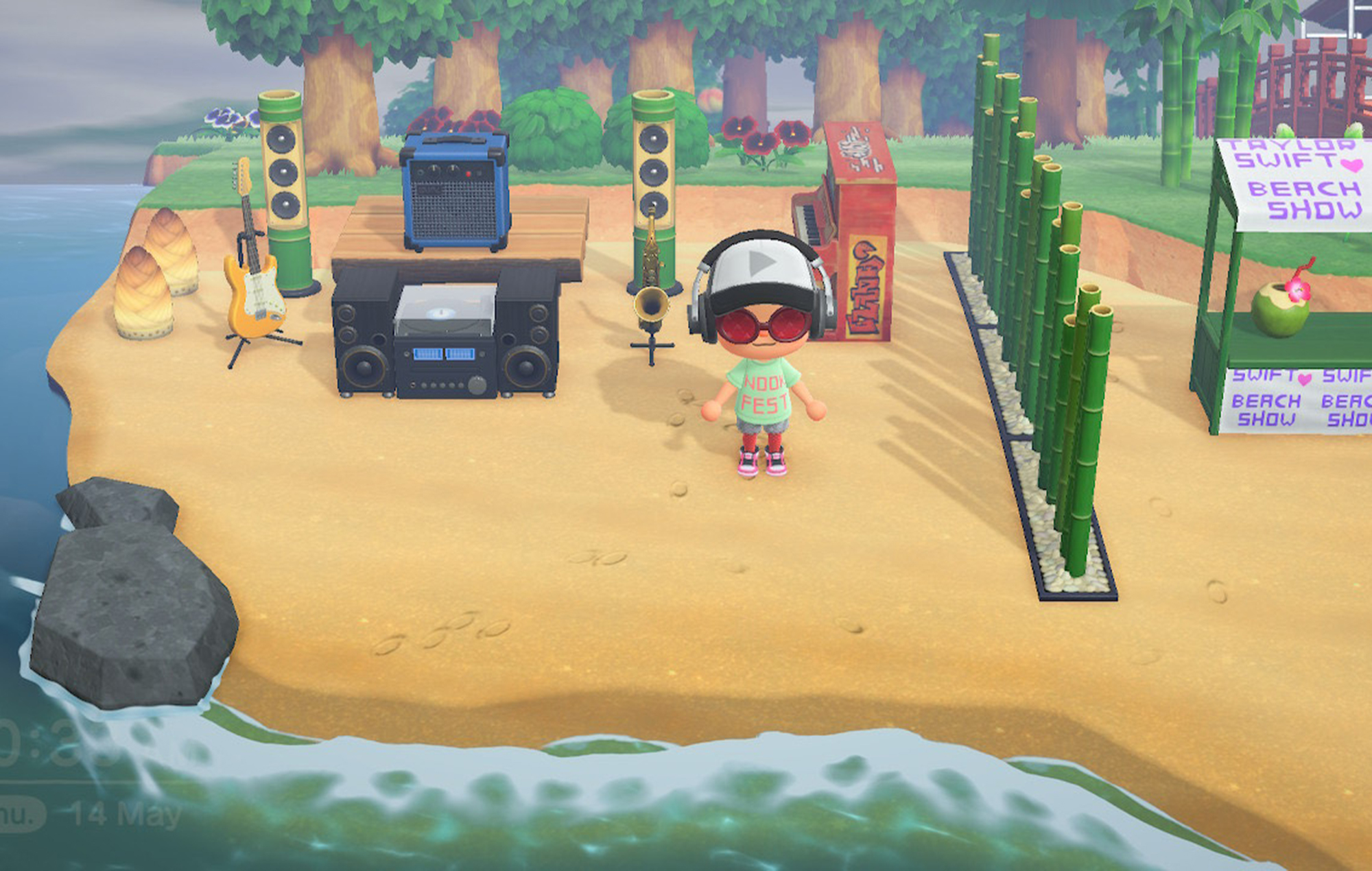 How To Create Your Own Music Festival In Animal Crossing New Horizons Nme