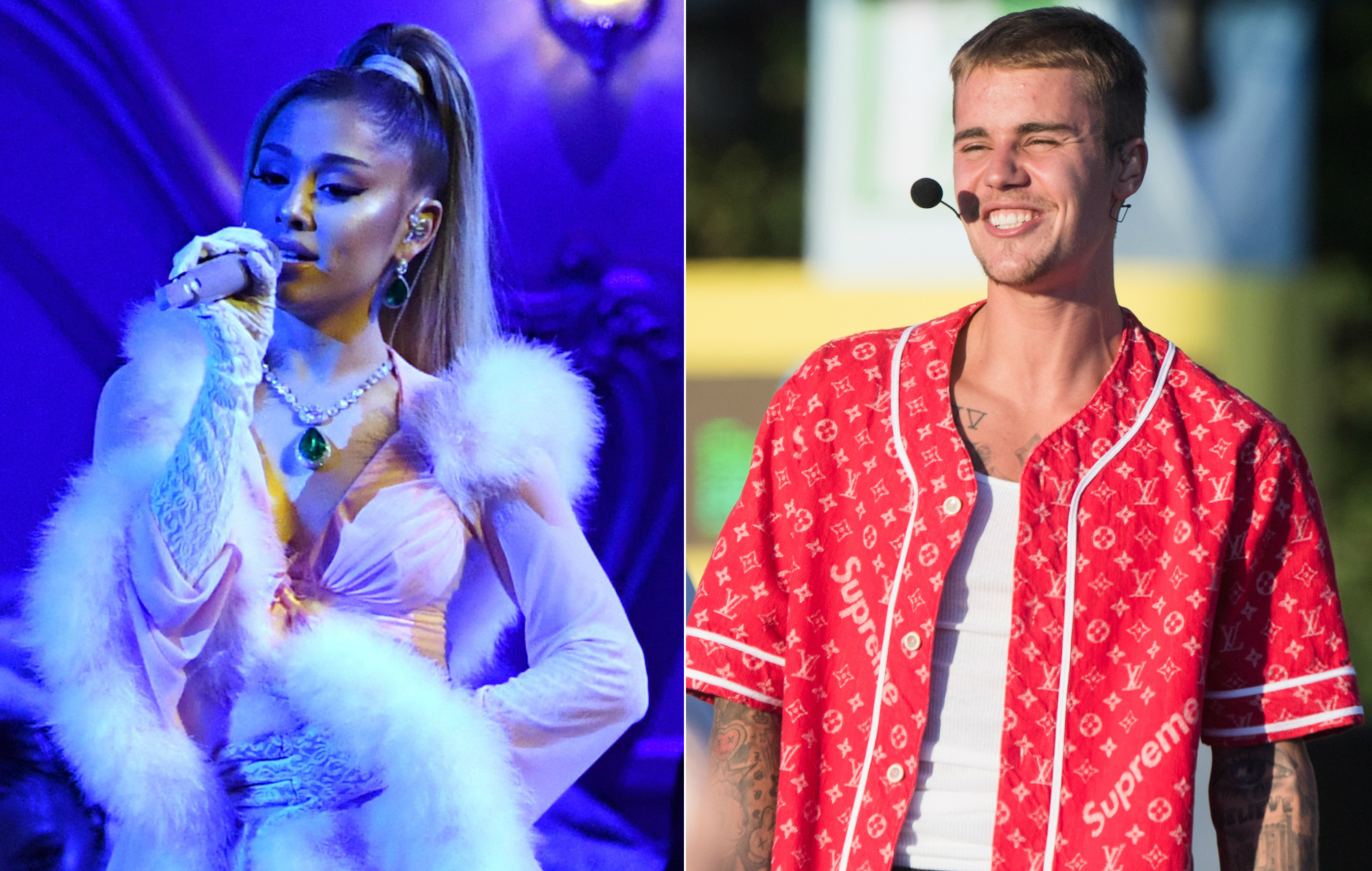 Justin Bieber And Ariana Grande Release Charity Single Stuck With U