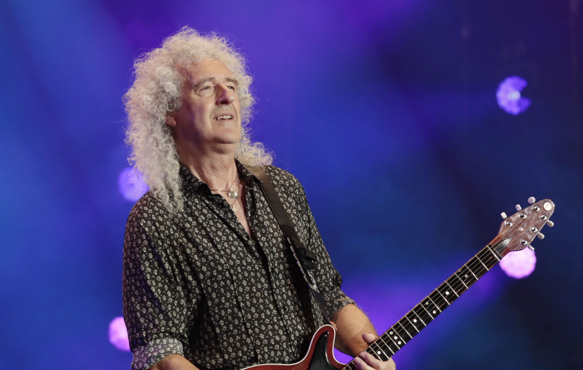 """Brian May thanks fans for """"overwhelming love and support"""" following heart attack scare - EpicNews"""