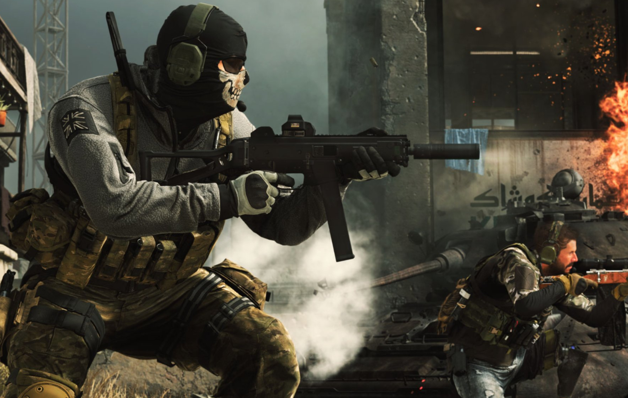 Ghost and Alex in Call Of Duty: Modern Warfare