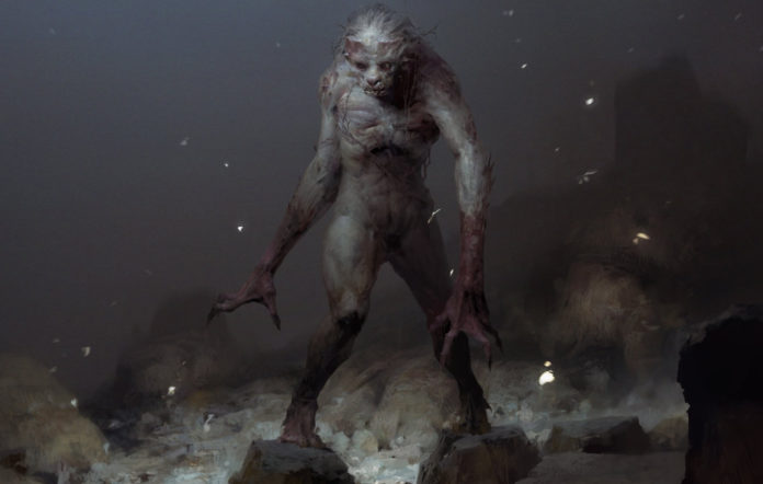 A creature from Darkborn