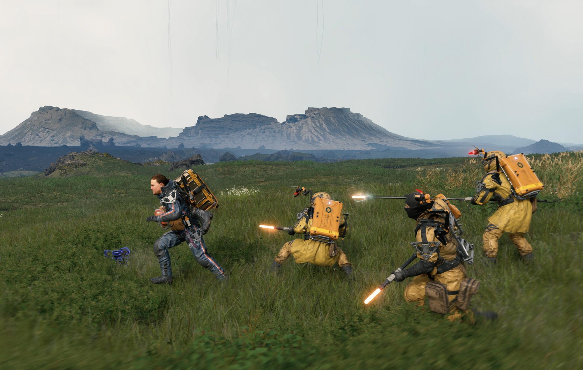 Death Stranding fight