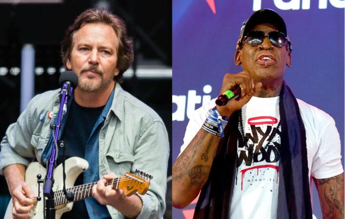 Eddie Vedder, Pearl Jam, Dennis Rodman