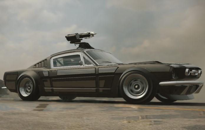 A screenshot from Fast & Furious Crossroads