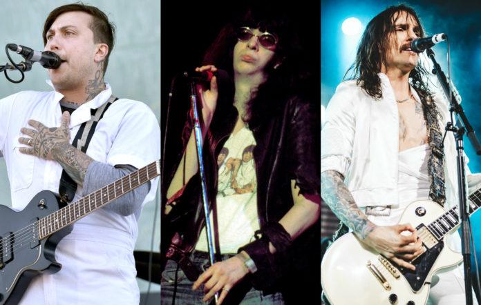Frank Iero, Joey Ramone, Justin Hawkins