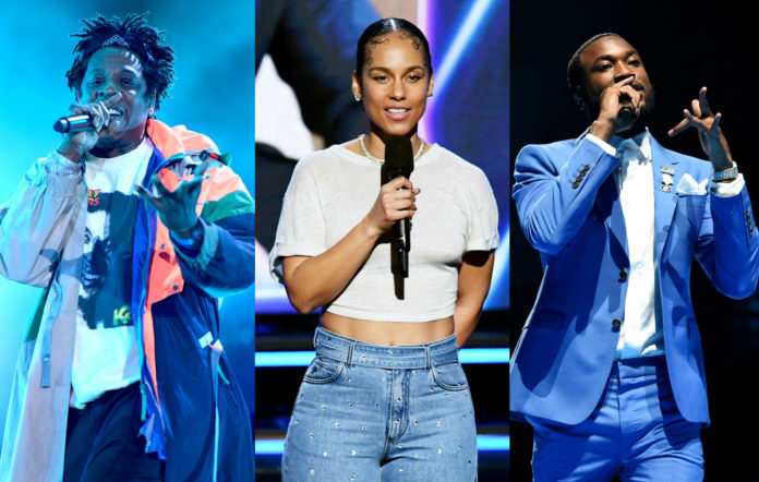 Jay-Z, Alicia Keys, Meek Mill