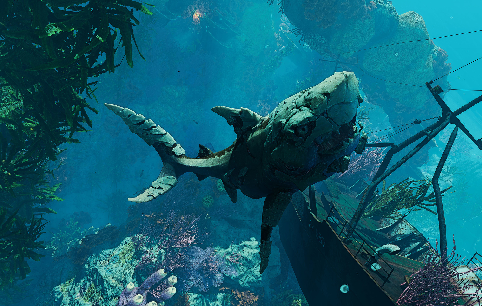 maneater stone shark