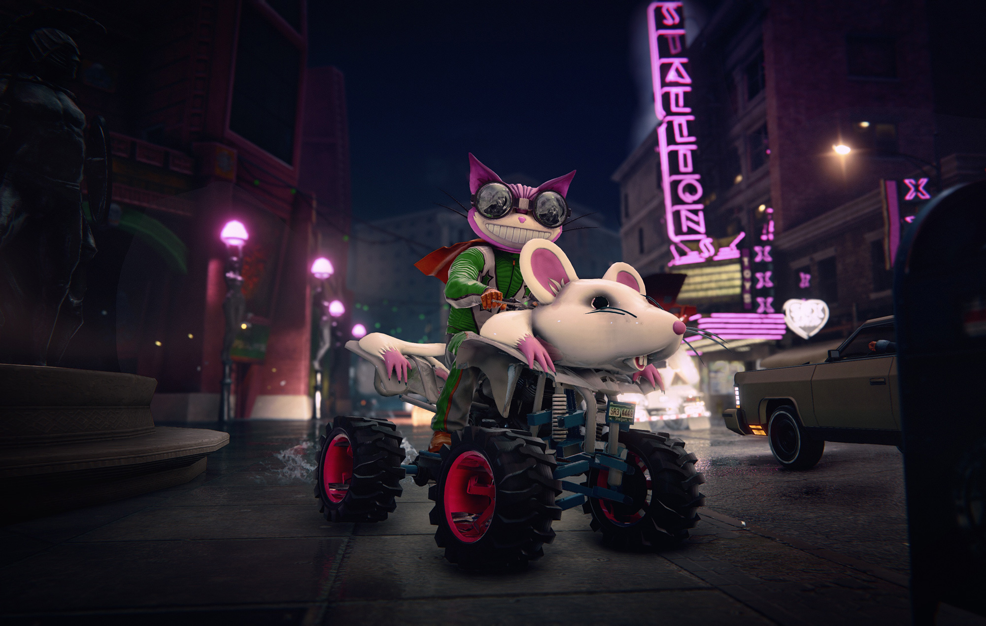 Saints Row The Third Remastered Rat ATV