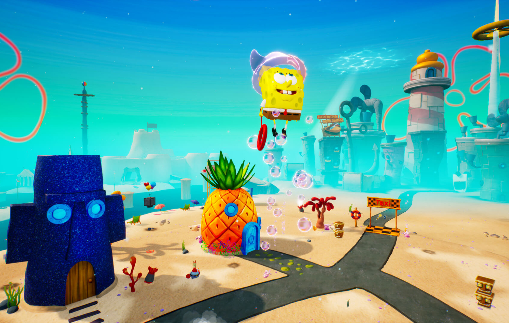SpongeBob fight for Bikini Bottom Remake