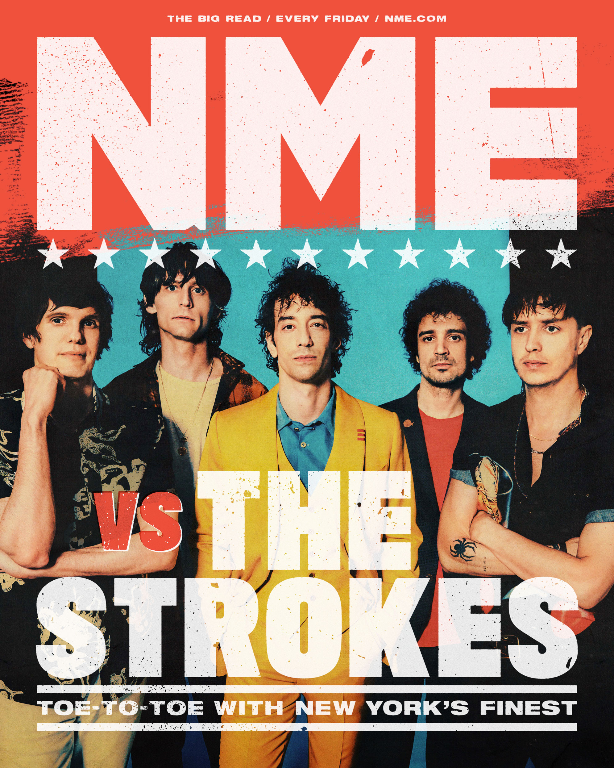 the strokes nme cover interview