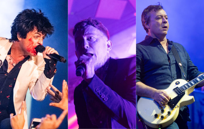 Green Day, Frank Carter, Manic Street Preachers