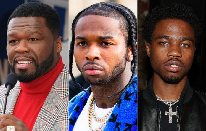 50 Cent, Pop Smoke, Roddy Ricch