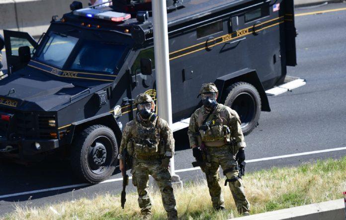 Police in Philadelphia