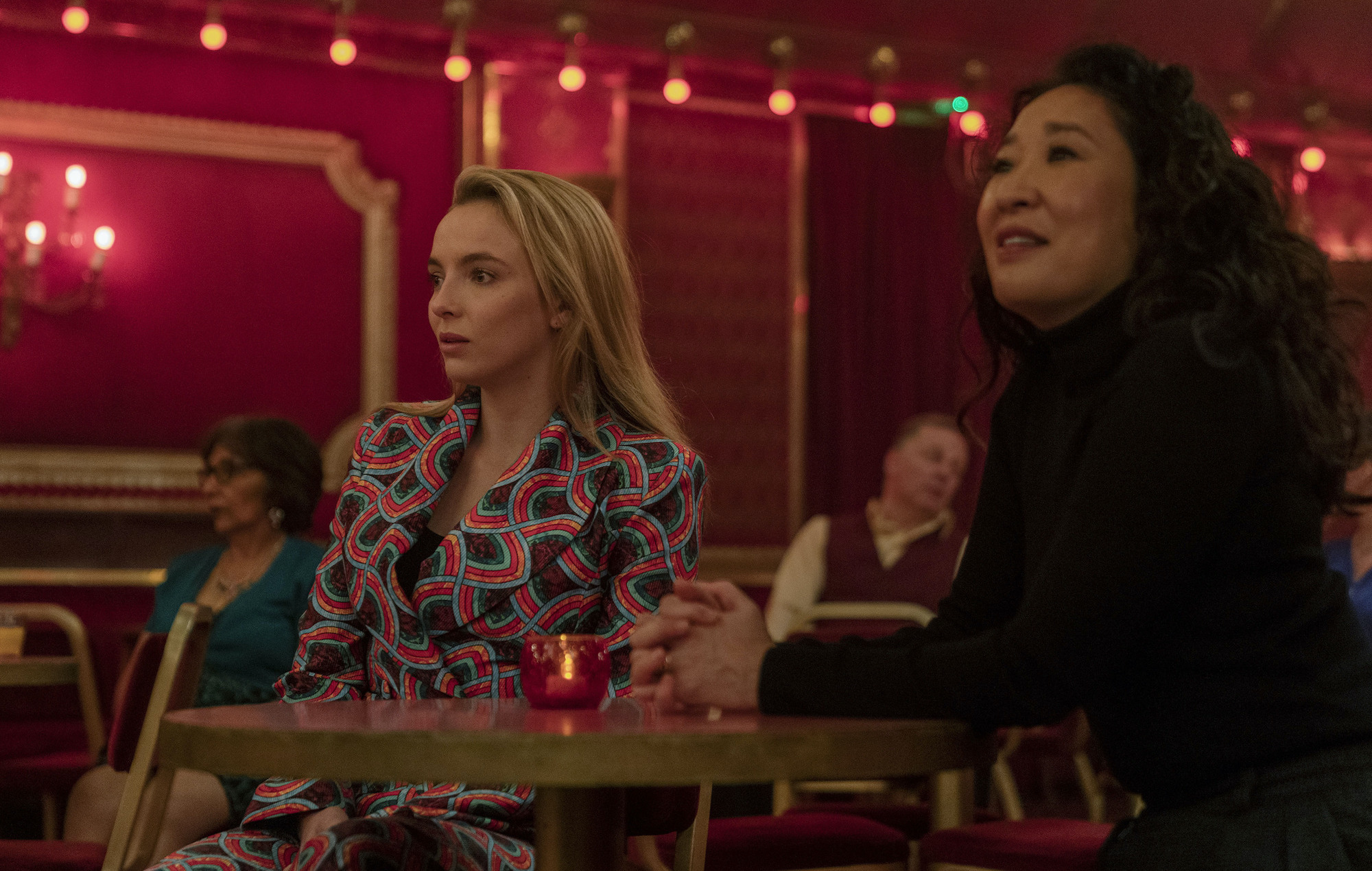 Jodie Comer, Sandra Oh, Killing Eve season three