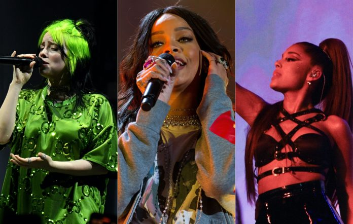 Billie Eilish, Rihanna and Ariana Grande sign open letter calling for NY statute reform