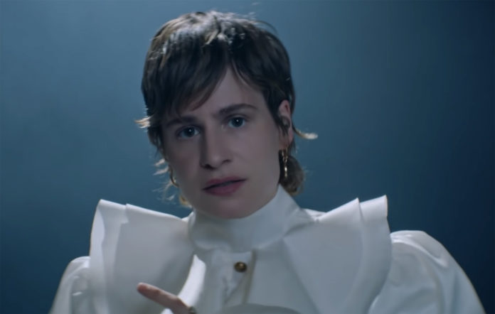Christine and the Queens performing 'I Disappear into Your Arms'