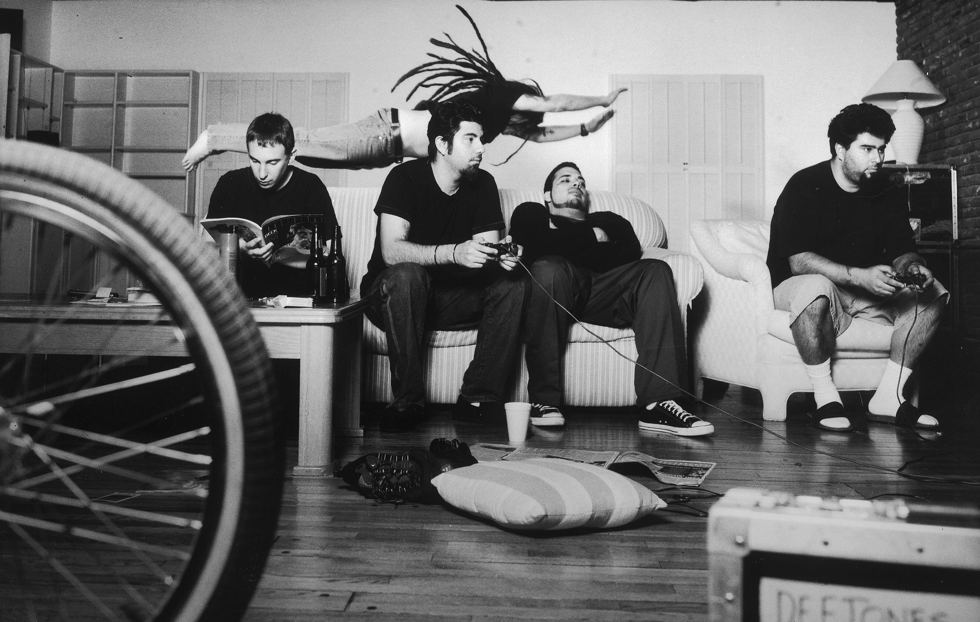Deftones in 2000. Credit: James Minchin III
