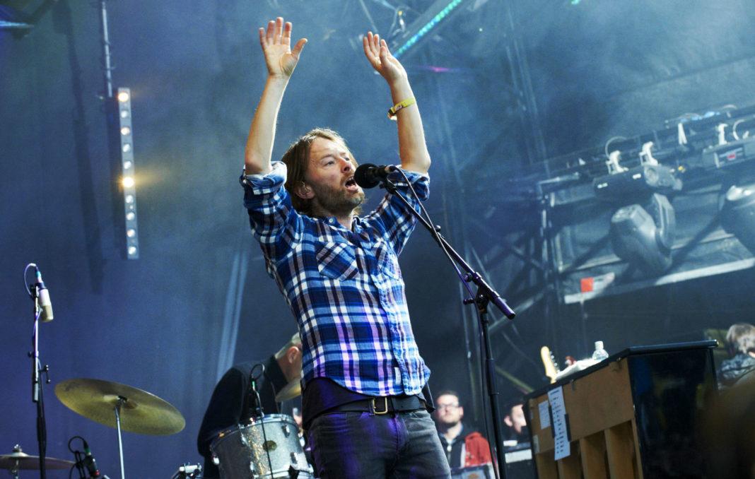 Radiohead at Glastonbury 2011